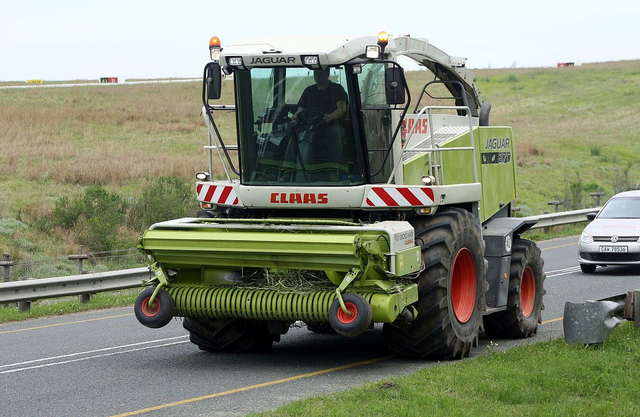 Pickup Forage Harvester