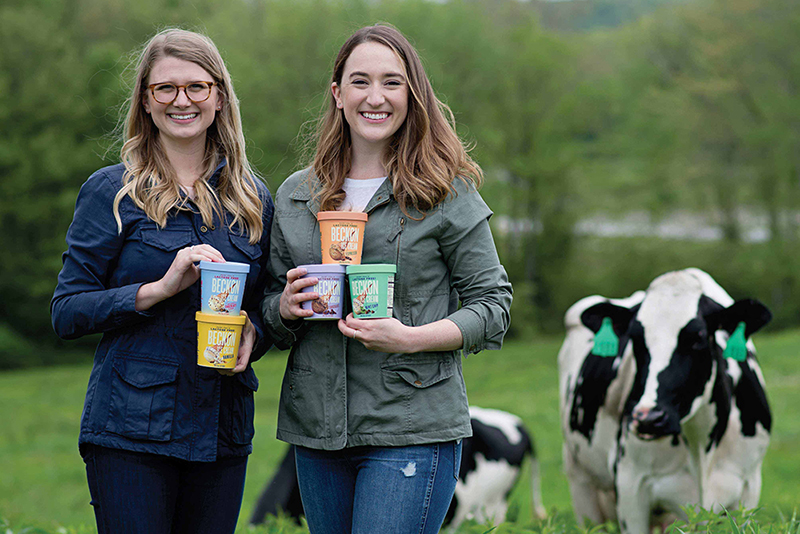 Katy Flannery and Gwen Burlingame, Founders of Beckon Ice Cream