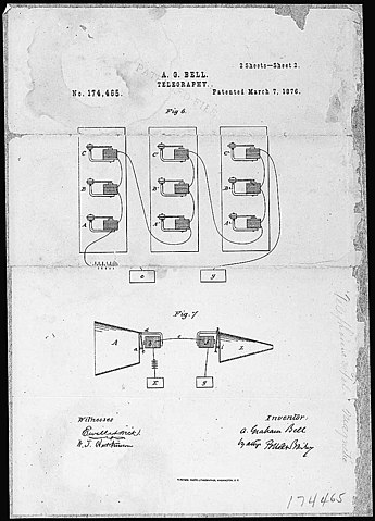 bell telephone patent