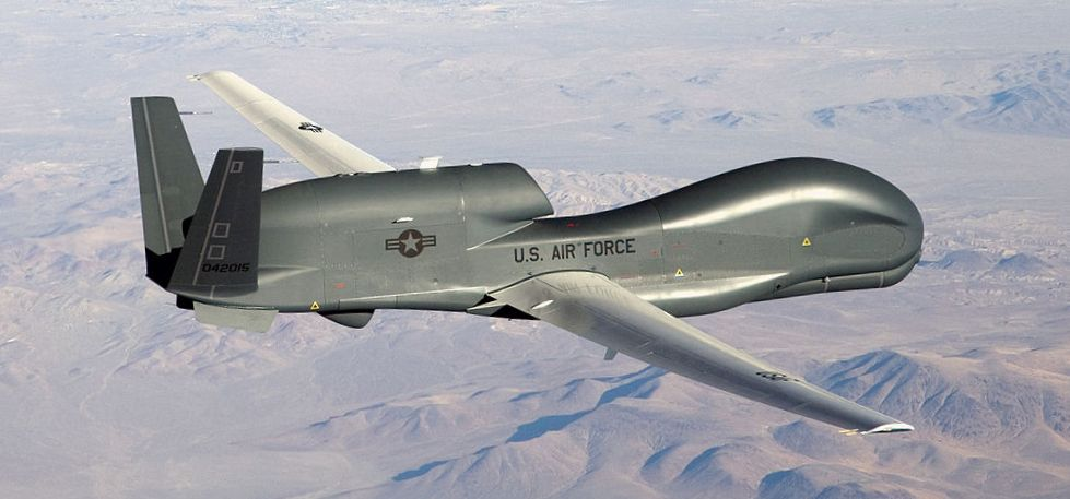 The U.S. Air Force uses the Global Hawk as a High-Altitude Long Endurance platform.