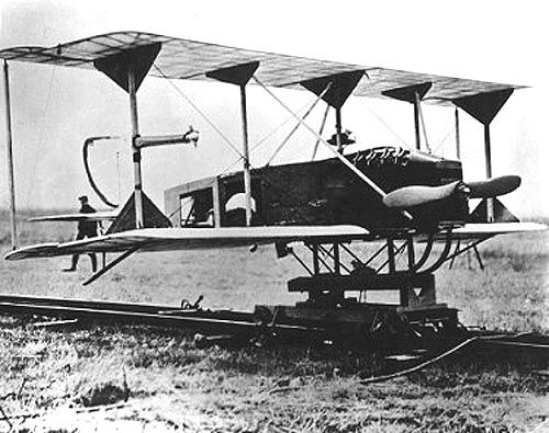 The U.S. Navy funded development of the Hewitt-Sperry Automatic Airplane in 1918.