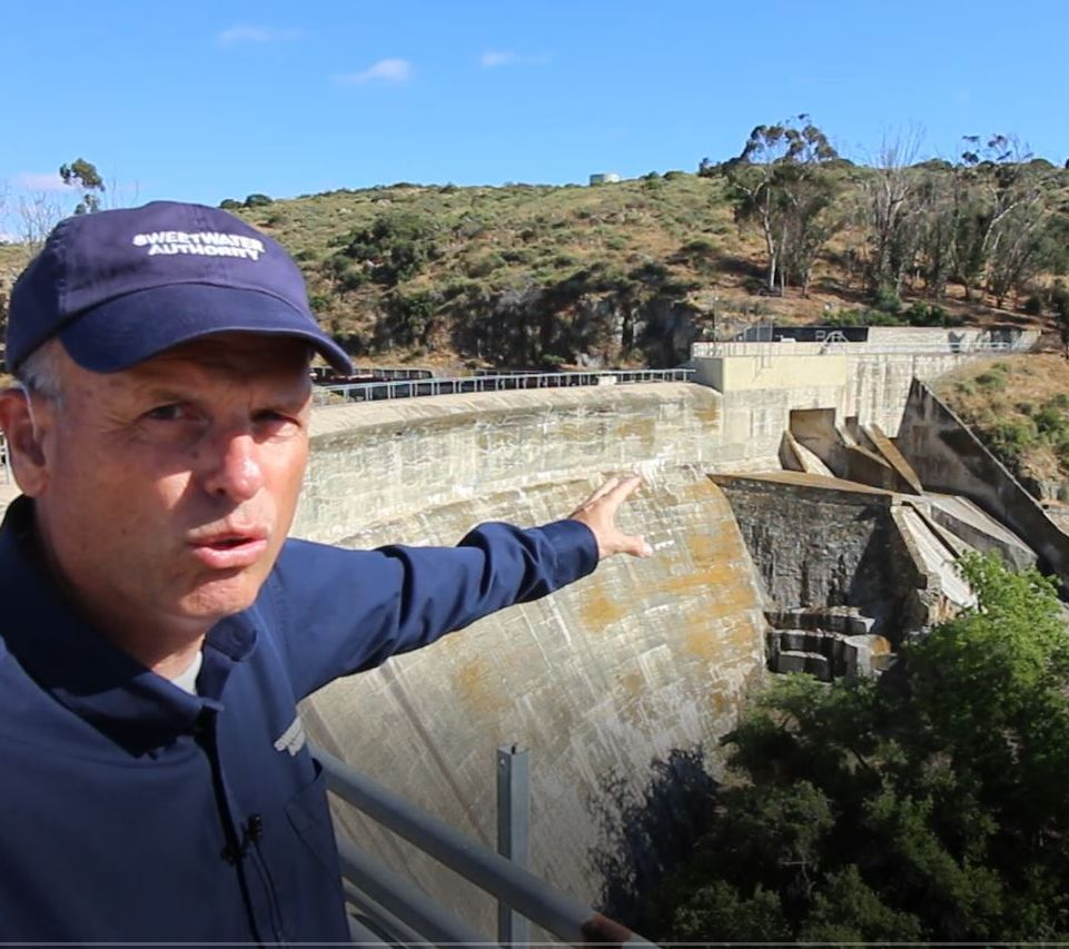 Tour of Sweetwater Dam