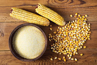 Photo of corn and grits