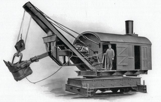 A few Thew steam shovels remained in use until the 1950s.