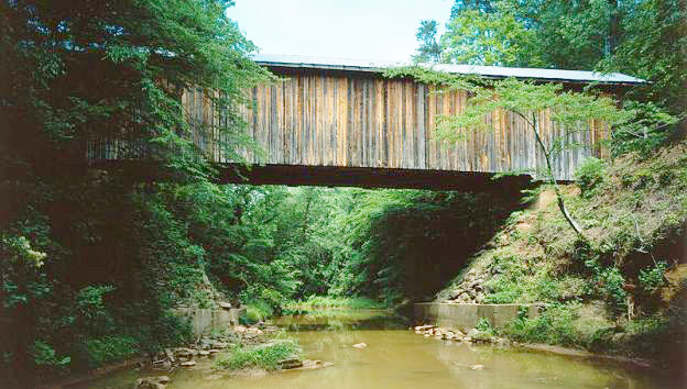 Bunker Hill Covered Bridge-