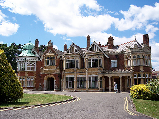 Code-Breaking at Bletchley Park during World War II-