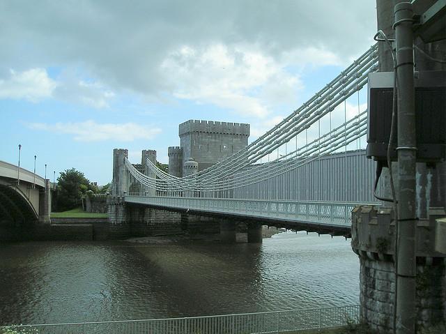 Conwy Suspension Bridge-