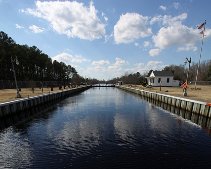 Dismal Swamp Canal-