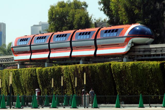 Disneyland Monorail System-