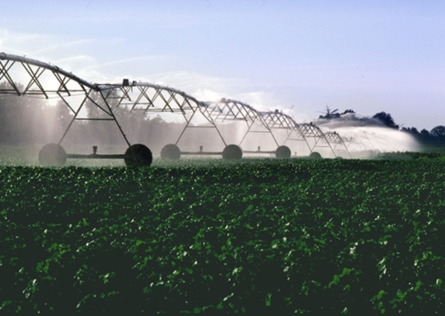 Center Pivot Irrigator-