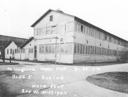 The Boeing Red Barn taken in 1937