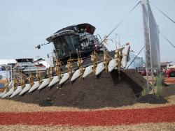 Self-Leveling Control for Hillside Combine