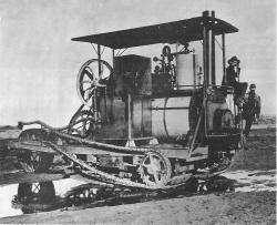 Holt Track-Type Tractor