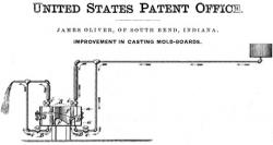 The Oliver Chilled Cast-Iron Plow