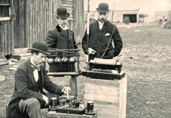 First Operational Use Of Wireless Telegraphy