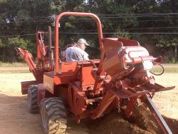 Ditch Witch DWP Service-Line Trencher