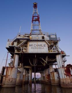 Mr. Charlie Oil Drilling Rig