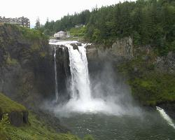 Snoqualmie Falls Cavity Generating Station