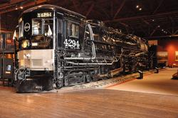 Southern Pacific #4294 Cab-in-Front Steam Locomotive
