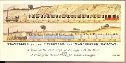 Liverpool Manchester Railway & Site of Rainhill Trials