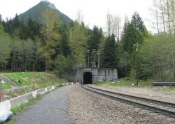 Stevens Pass Railroad Tunnels & Switchback System